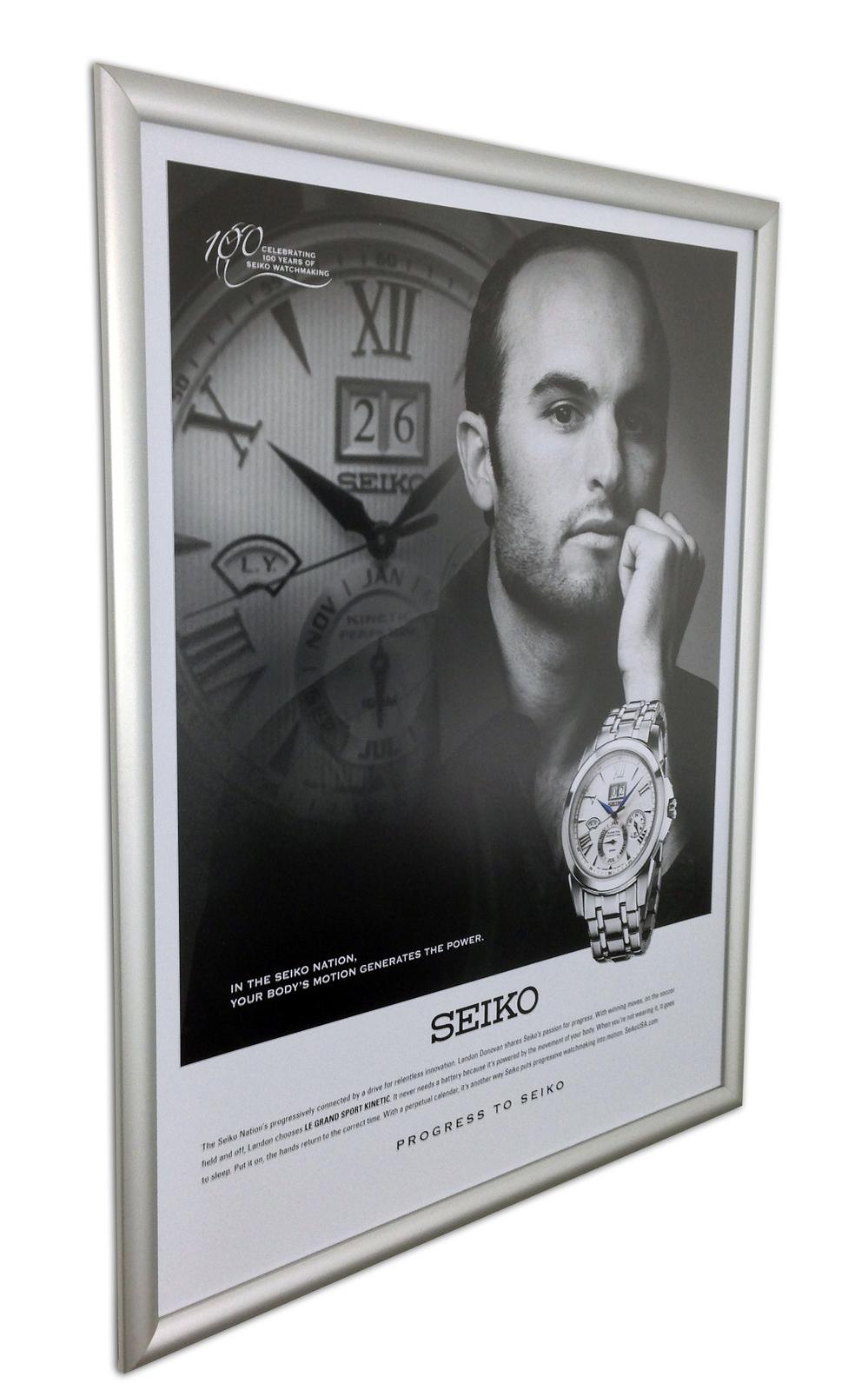 Seiko Snap Frame Poster