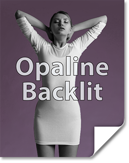 Opaline Backlit Print