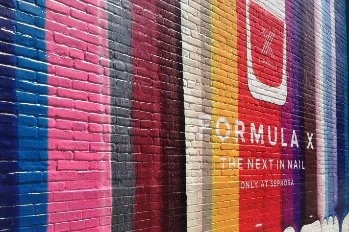 Rough Wrap Printed Adhesive Vinyl for Textured Walls & Brick Surface