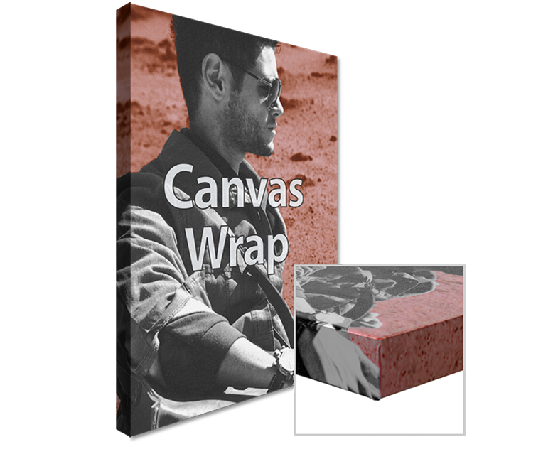 Wrapped Canvas Print with Frames