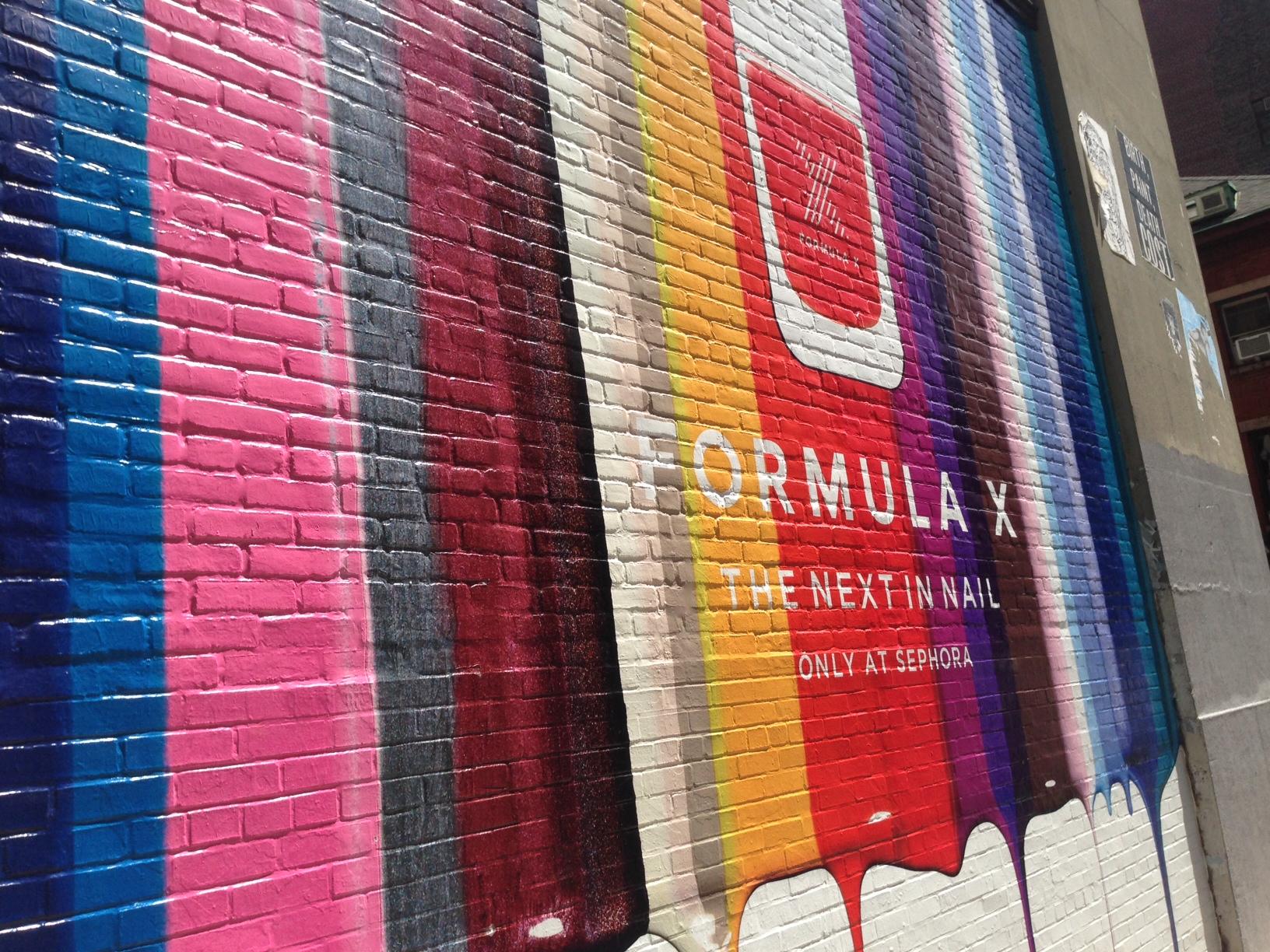 Vinyl for brick wall - Bricks Printing Textured Surface Walls Buidings Signage