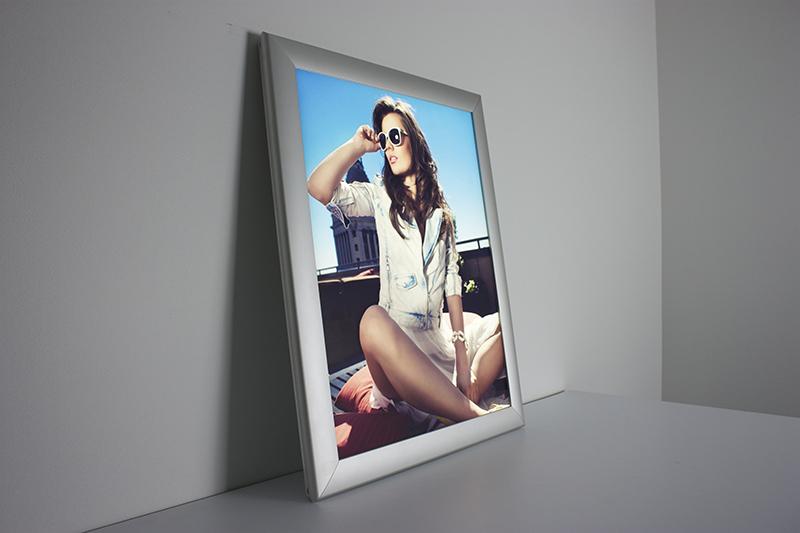 Duratran Transparency in frame