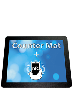 Counter Mat with NFC Tag