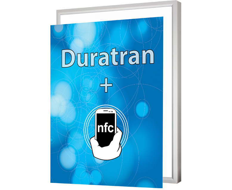 Duratran Transparency with NFC Enabled tag