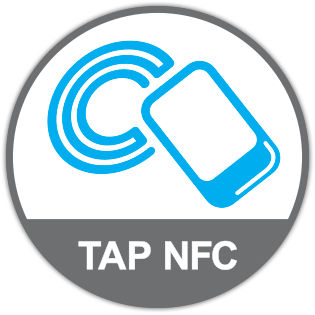 tap NFC sticker tag marketing printing