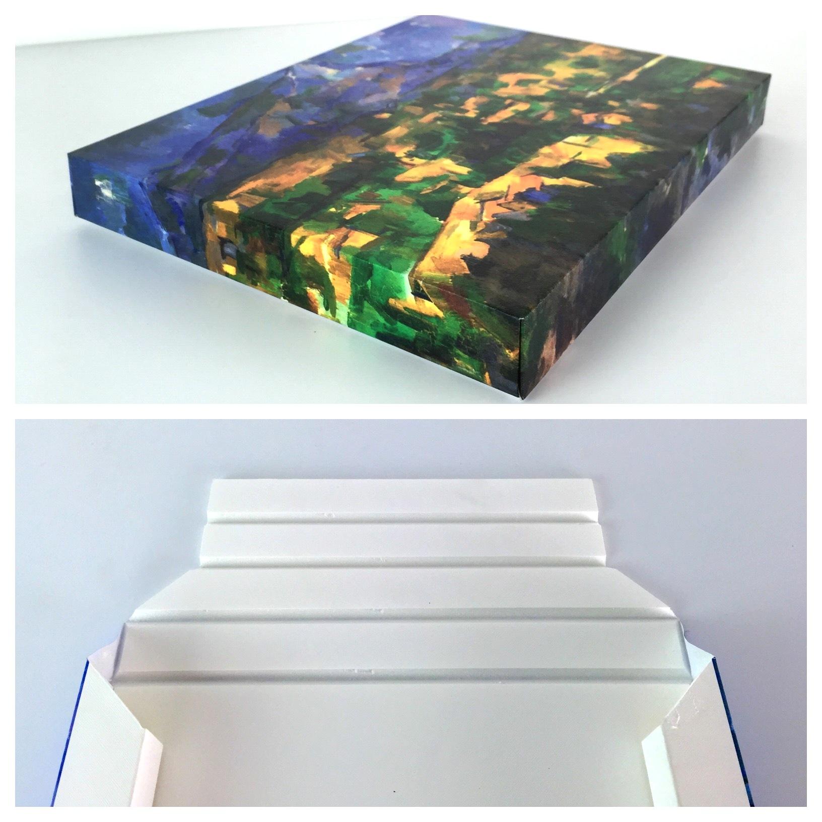 Foam board poster prints
