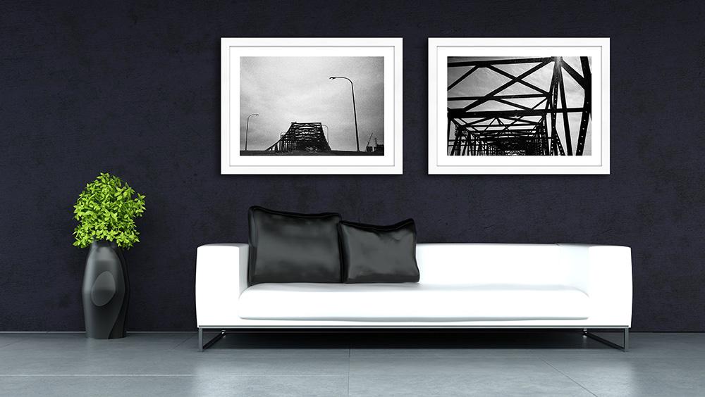 framed printed photography decor interior