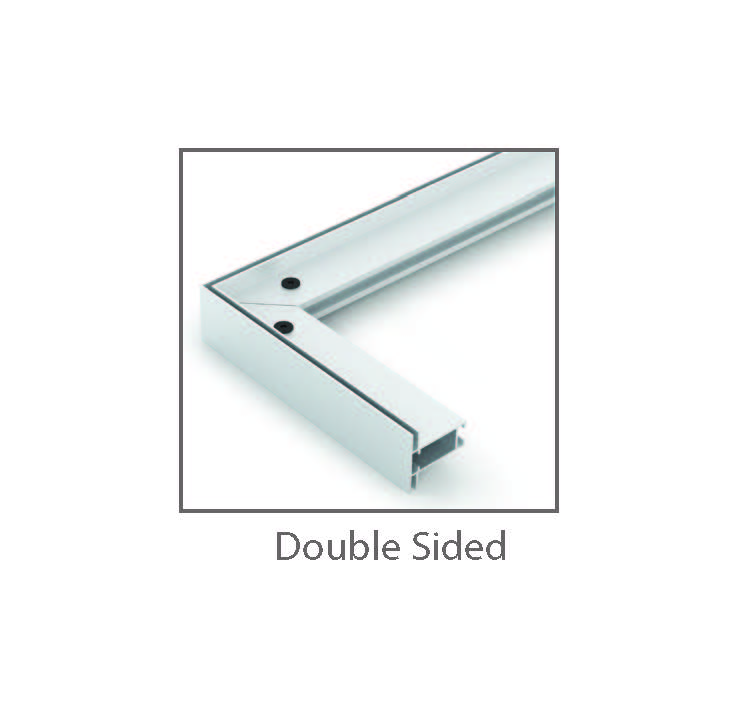 Double Sided SEG Tension Fabric Framing System