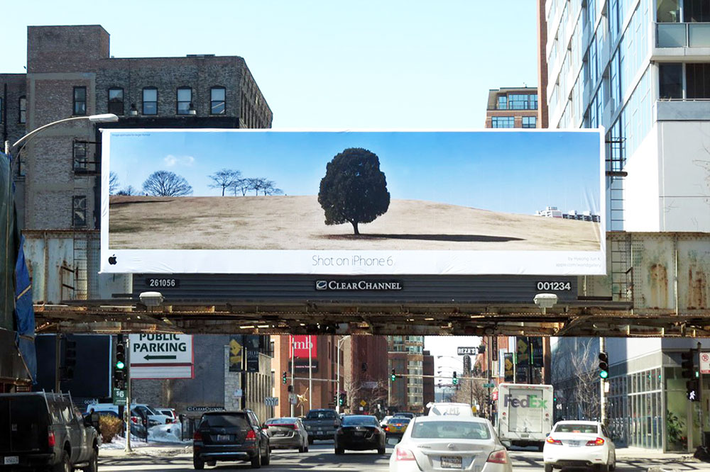 Apple Campaign Displays Printed Signage 'Shot on iPhone 6'